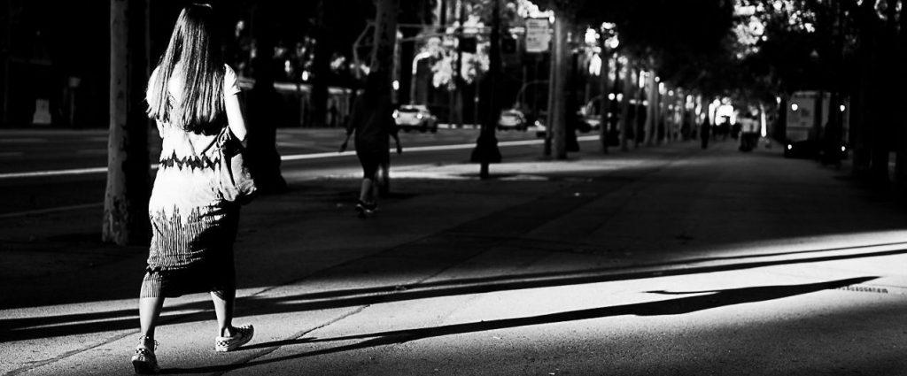 Diagonal street photography barcelona